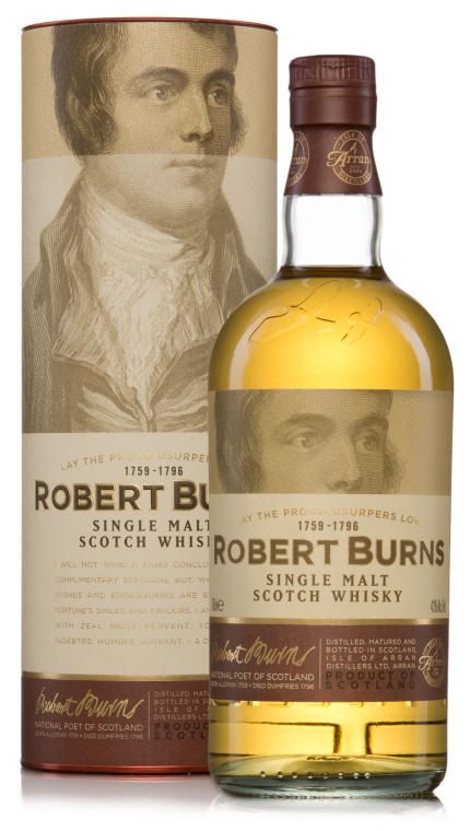 Single malt robertburns 70cl product detail rebrand