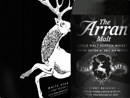 Arran white stag visual timeline