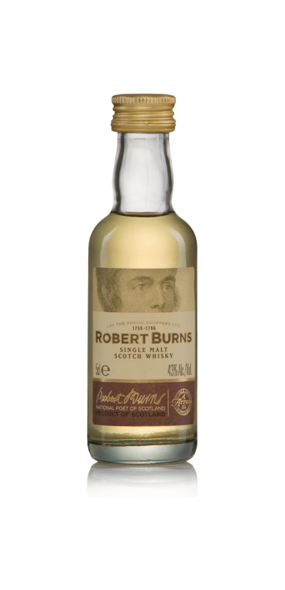 Single malt robertburns 5cl product detail