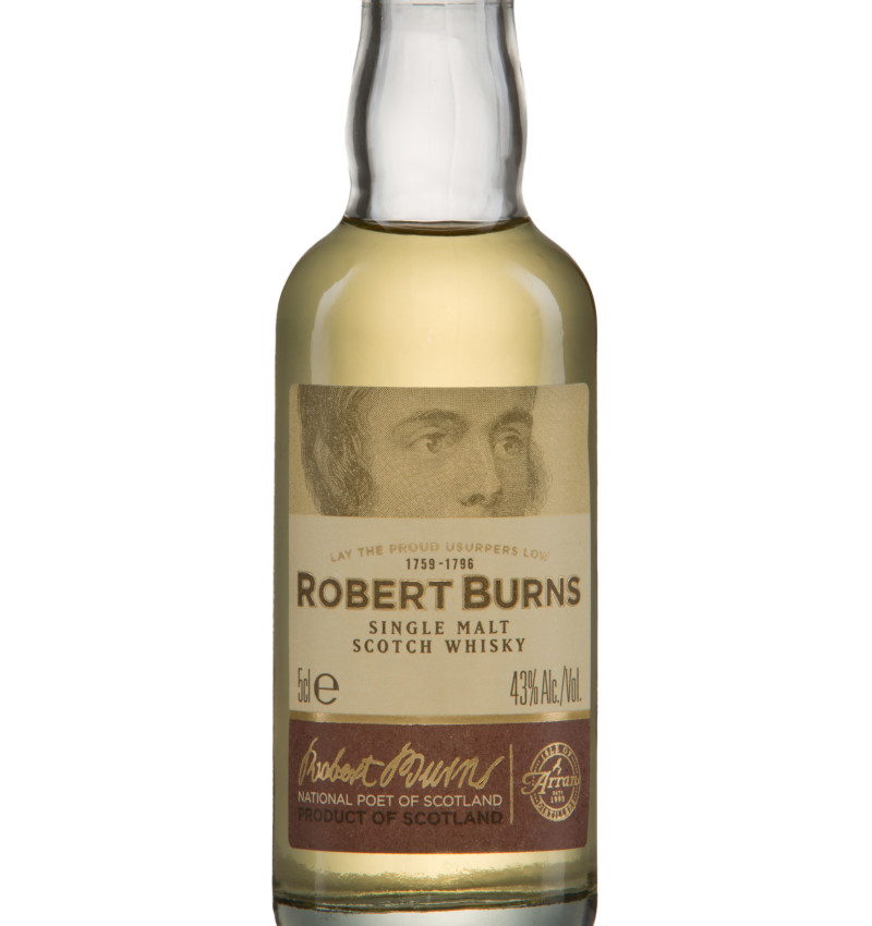 Single malt robertburns 5cl product listing