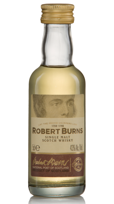 Single malt robertburns 5cl product listing rebrand