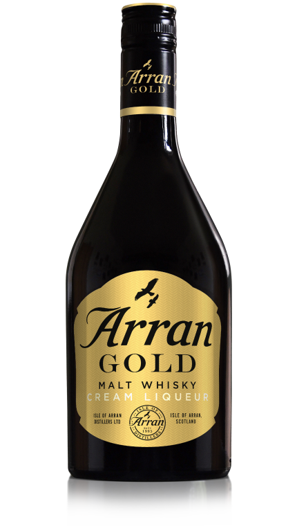 Cream liqueur arran gold 70cl new product detail rebrand
