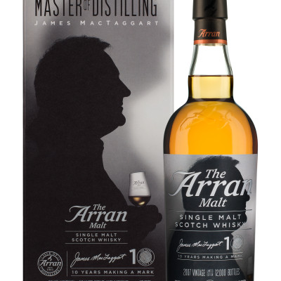 Arran james mctaggart bottle and box listing