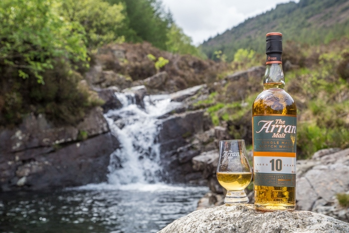 water and whisky glen sannox