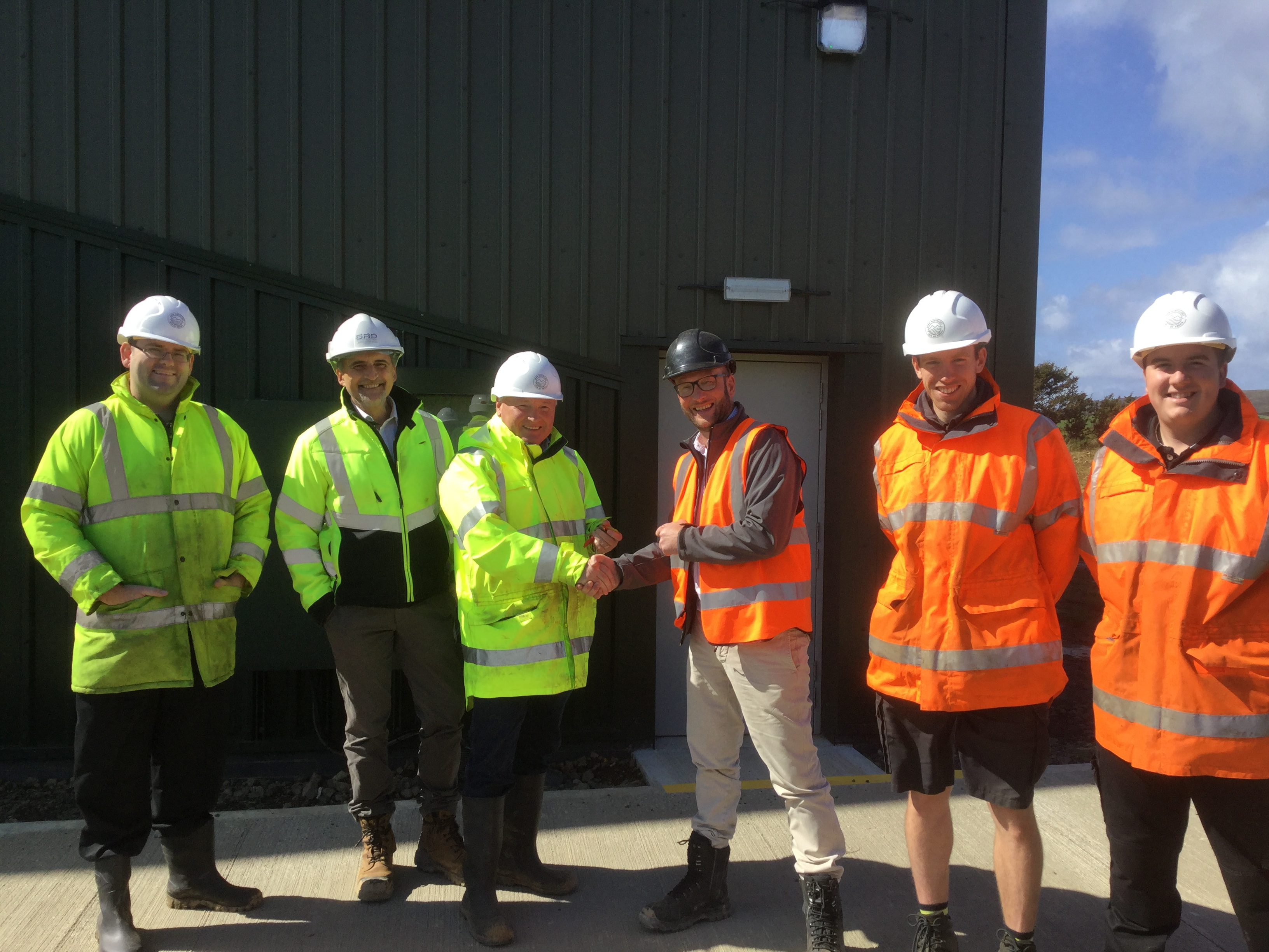 Handover of Warehouses