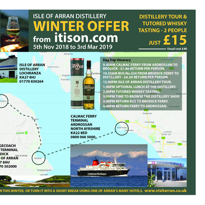 Arran whisky itison offer 18 19 listing