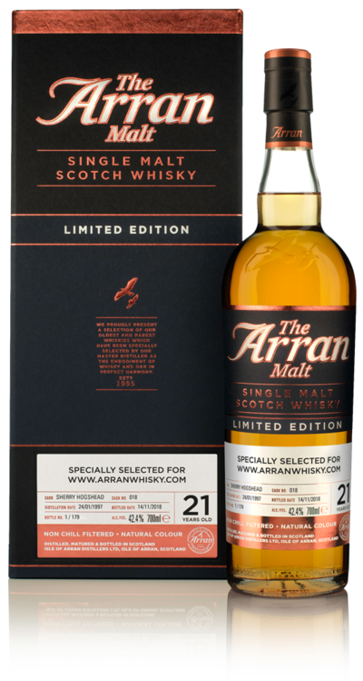 Arran 21yo online exclusive 2019 resized product detail