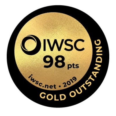 Iwsc 2019 medal gold outstanding98 hi res listing rebrand