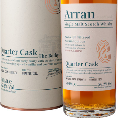 Ad arran quarter cask bottle box le1000px trimmed png listing