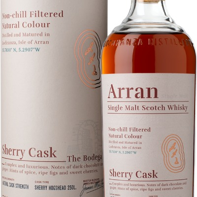 Ad arran sherry cask bottle box le1000px trimmed png listing rebrand