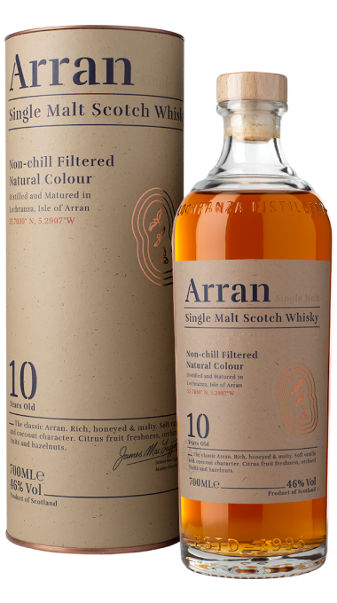 Ad arran 10yo bottle box le1000px trimmed png product listing rebrand