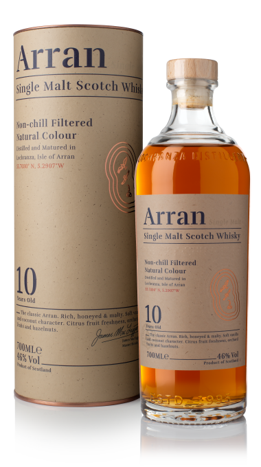 Ad arran 10yo bottle box product listing rebrand