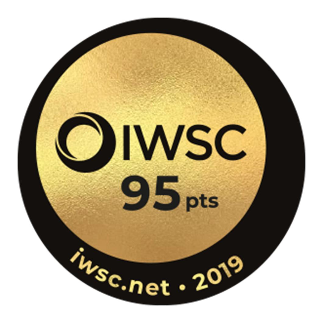 Iwsc gold sticker score95 hires square rebrand