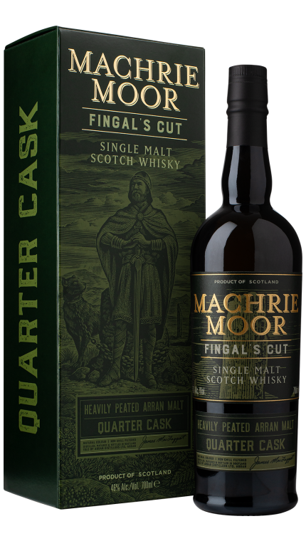 1c arran machrie moor fingal's cut  qc bottle   box product detail rebrand