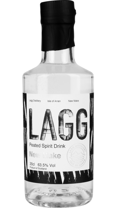 3a arran new make lagg bottle original product listing rebrand