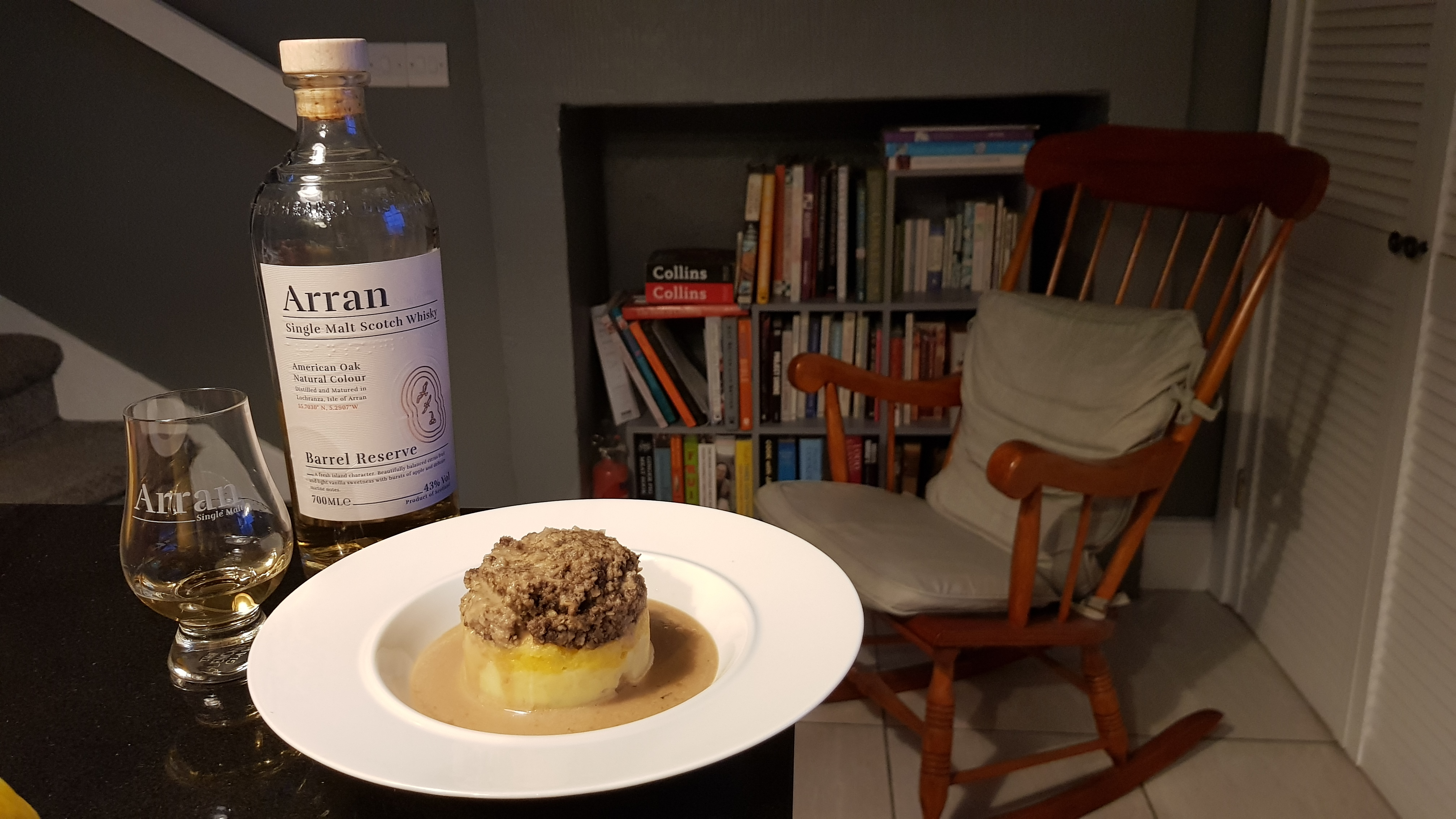 Haggis, Neeps and Tatties with Barrel Reserve