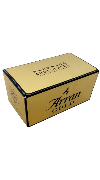 Arran gold chocolates product listing rebrand