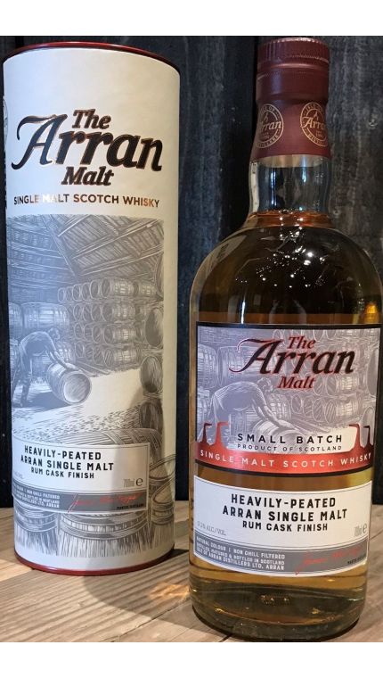 Distillery exclusive lagg heavily peated rum product detail rebrand