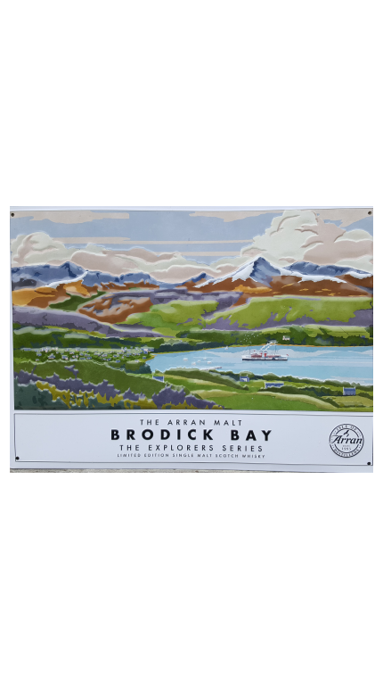 Brodick bay metal plaque pos product detail rebrand