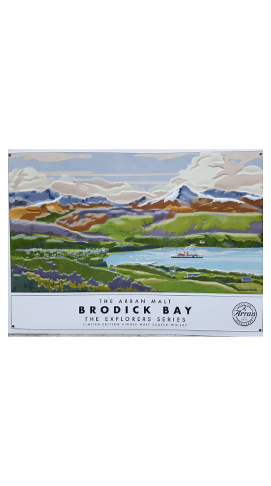 Brodick bay metal plaque pos product listing rebrand