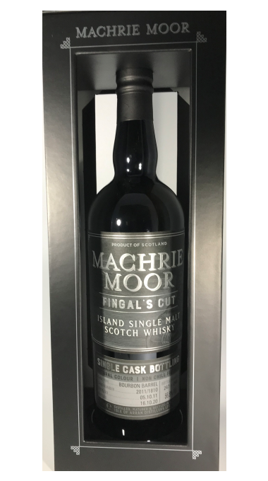 Machrie moor fingal's cut single cask product listing rebrand