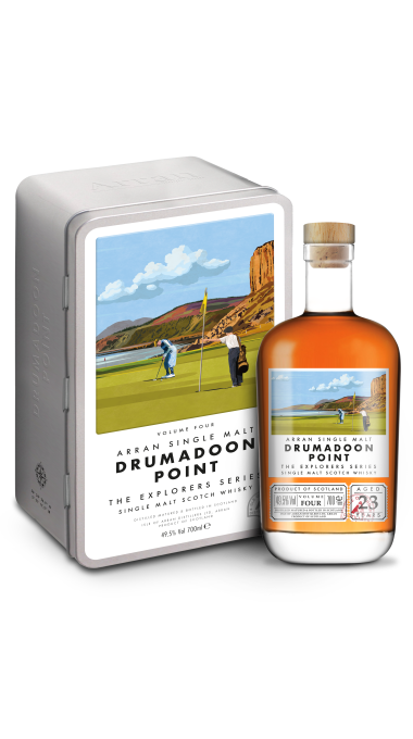 Arran drumadoon tin bottle 040920 product listing rebrand
